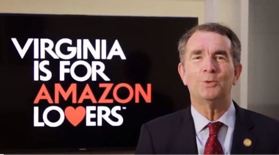 Virginia's grant agreement with Amazon