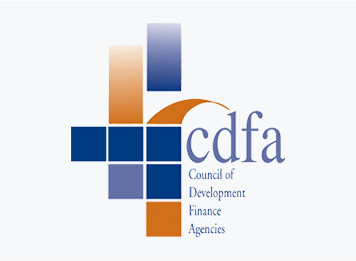 Official logo of the Council of Development Finance Agencies, a Smart Incentives partner